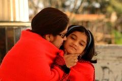 Amor puro de las madres Imagen de archivo