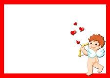 Amor, quadro ilustração stock