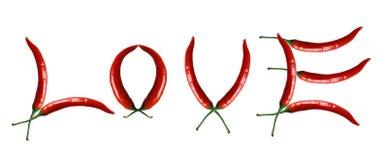 Amor quente Imagens de Stock