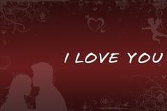 Amor rojo Foto de archivo libre de regalías