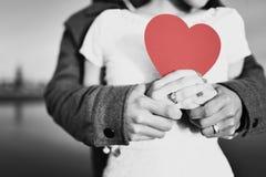 Amor romántico Imágenes de archivo libres de regalías