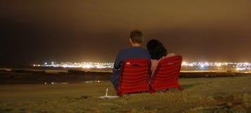 Amor romântico foto de stock