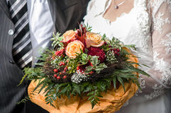 Amor romântico 35 dos símbolos do casamento dos pares da união Imagens de Stock