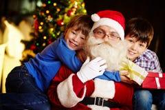 Amor a Santa Fotos de archivo