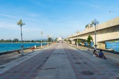 Amor Sarasin Phuket Tailândia da ponte foto de stock royalty free