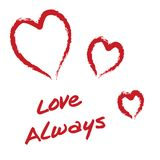 Amor siempre Foto de archivo