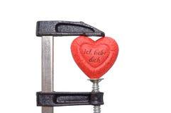 Amor sob a pressão Foto de Stock