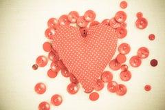 Amor suave en una almohada Imagen de archivo libre de regalías