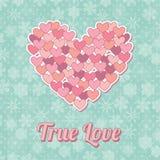 Amor verdadeiro Imagens de Stock Royalty Free