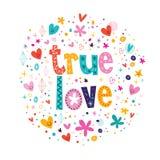 Amor verdadeiro Foto de Stock Royalty Free