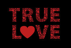 Amor verdadero Imagen de archivo