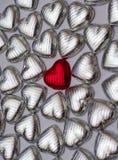 Amor vermelho Fotos de Stock Royalty Free
