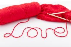 Amor vermelho da palavra Imagem de Stock Royalty Free