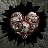 Amor violento Imagens de Stock Royalty Free
