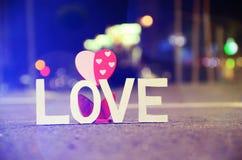 Amor y amor Foto de archivo libre de regalías