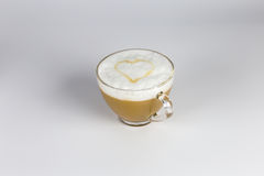 Amor y café imagenes de archivo