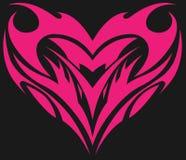 Amor y corazón Fotos de archivo