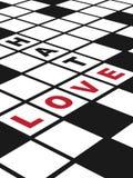 Amor y odio Fotografía de archivo libre de regalías