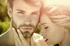 Amor y romance fotografía de archivo