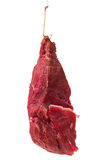 Amorce avec de la viande sur le crochet Images stock