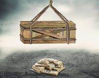 Amorce d'argent Photo libre de droits