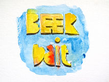Amorce de bière Image stock