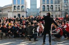 Amorce de rampe pour l'arsenal Londres Image libre de droits