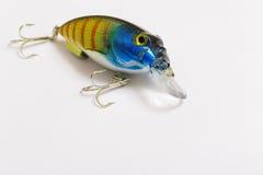 Amorce en plastique pour pêcher - wobbler Image libre de droits