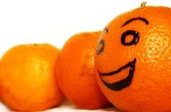 Amorce et équipe oranges Image libre de droits