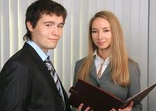 Amorce et secrétaire. Photos libres de droits