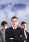 Amorce et son équipe Image stock