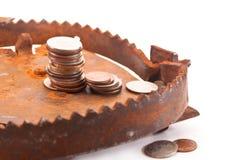 Amorce financière Photographie stock libre de droits