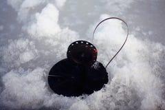 Amorce pour la pêche d'hiver Image stock