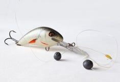 Amorce pour la pêche et la ligne de pêche, sinke Images libres de droits