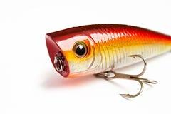 Amorce pour la pêche - popper Photos stock