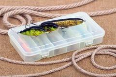 Amorce pour les poissons prédateurs contagieux Image stock