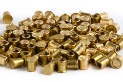 Amorces de fusil de chasse sur le fond blanc Image stock