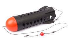 Amorcez l'esprit de carpe de la fusée XL - pêche de carpe (le chemin de coupure) Photographie stock