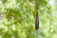 Amorcez le numéro 1 pour les poissons prédateurs contagieux dans les lacs et les rivières Image stock