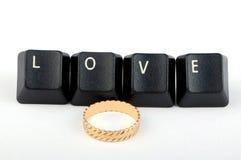Amore Fotografia Stock