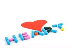 Amore & sanità fotografie stock libere da diritti