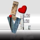 Amore-annata Fotografie Stock Libere da Diritti