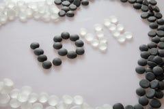 Amore in bianco e nero Fotografia Stock