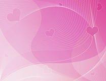 Amore, biglietti di S. Valentino, priorità bassa Fotografia Stock