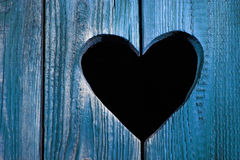Amore blu Immagine Stock