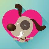 Amore canino illustrazione vettoriale
