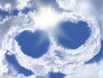 Amore celeste Fotografie Stock Libere da Diritti
