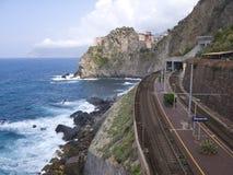 amore cinque dell Italy terre przez Zdjęcie Stock