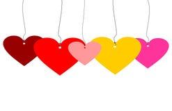 Amore a colori Immagini Stock