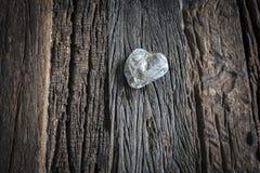Amore da una roccia Fotografia Stock Libera da Diritti